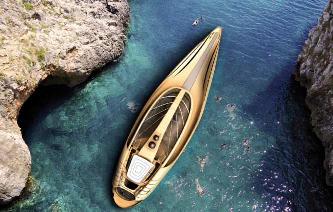 Superyacht Cronos concept - upview