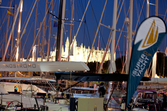 Superyacht Cup Palma annually hosted by the popular Spanish yacht charter location - Palma de Mallorca - Photo credit to Superyacht Cup Palma