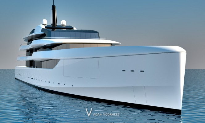 Superyacht Lumen - Bow