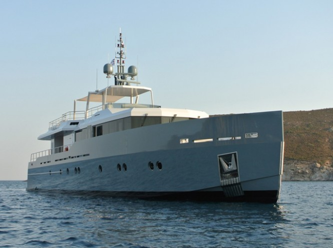 Superyacht Only Now - front view