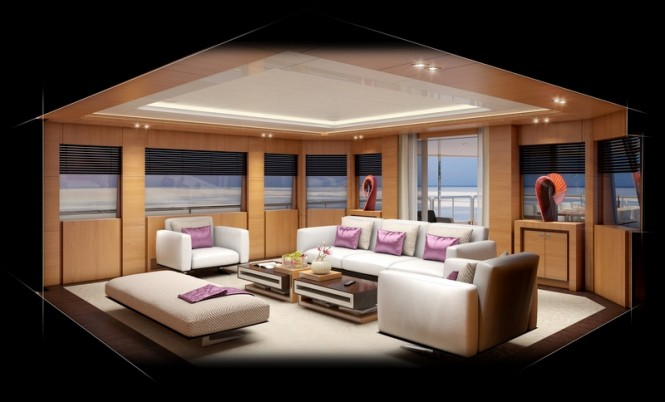 Superyacht Project BVB44M - Sky Lounge