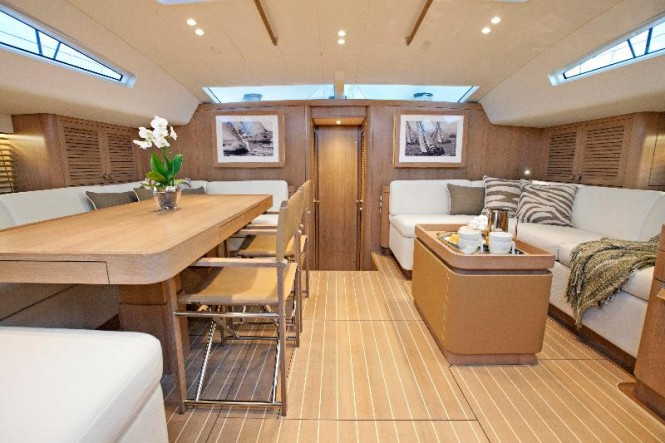 Swan 90S Yacht Freya - Interior Photo by MartinezStudio 2012