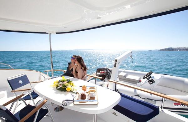 THE CHRISMA yacht -  Al Fresco Dining
