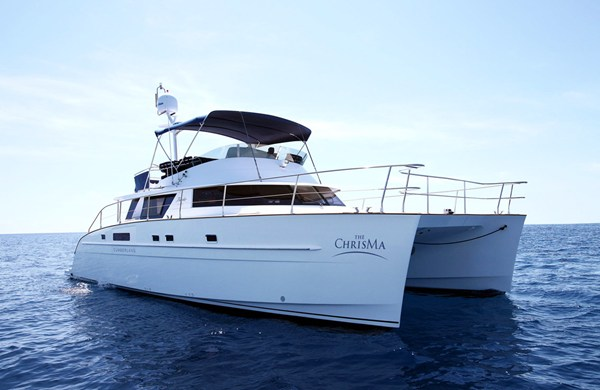 Luxury yacht The Chrisma