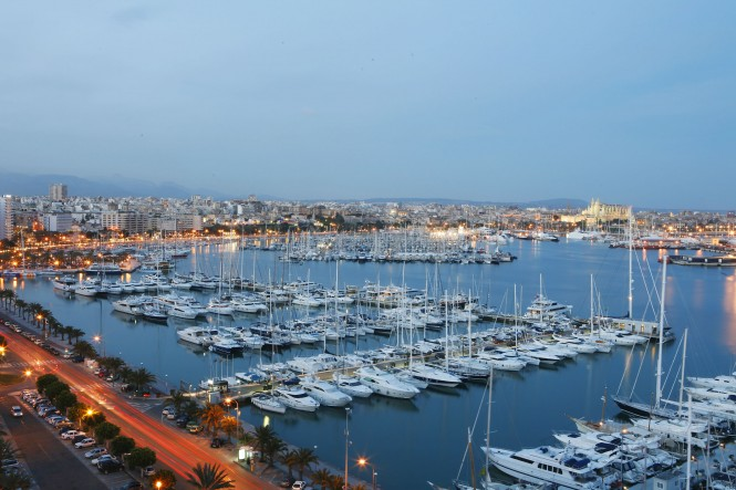 The fabulous Spanish yacht charter location - Palma de Mallorca
