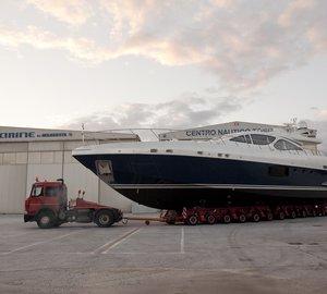 The Overmarine Group - Mangusta launch first motor yacht Mangusta 94