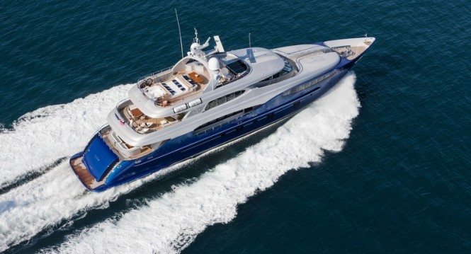 Vicem Yacht Vulcan - view from above