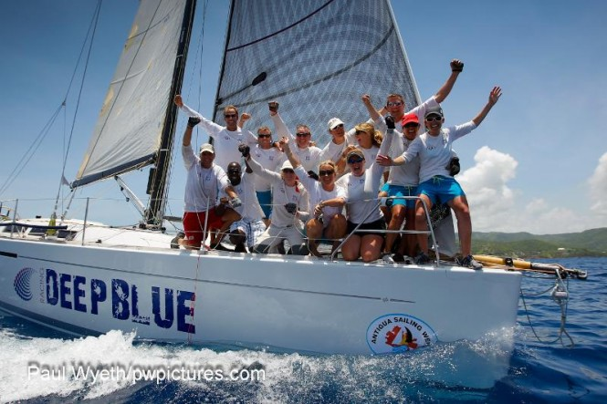 Winner CSA 4, Quokka 8, Grand Soleil 43, Philippe Falle of Deep Blue Racing