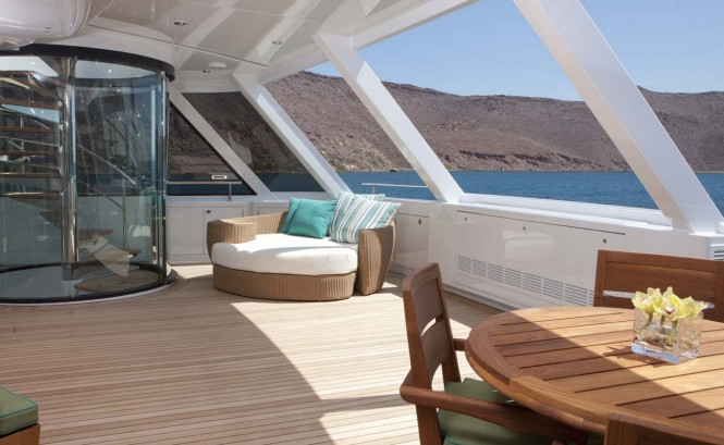 Yacht ARIANNA -  Owner's Deck