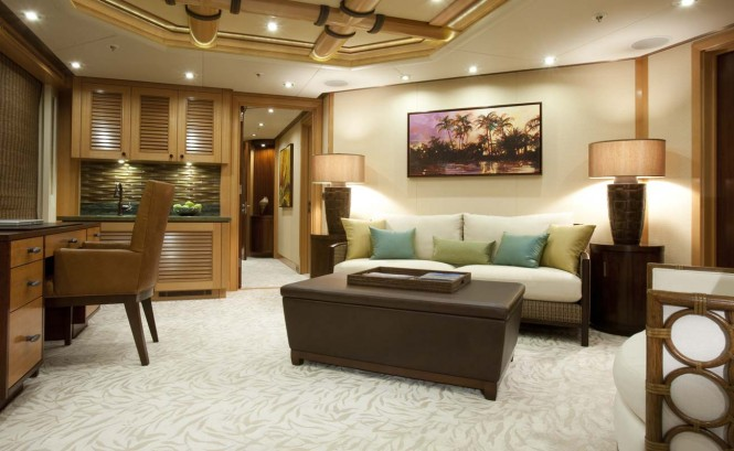 Yacht ARIANNA -  Owner's Lounge