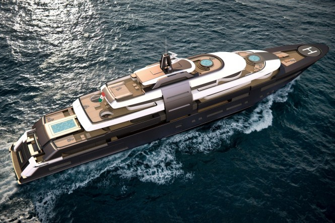 ZSYD yacht concept 90m