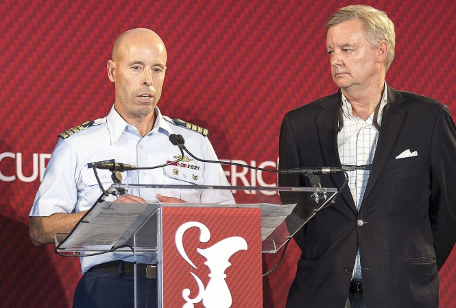 America's Cup Press Conference in San Francisco  ACEA Photo : Guilain GRENIER