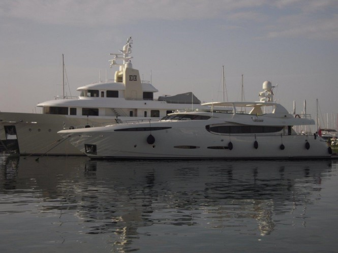 36m superyacht Phoenix refitted by AES shipyard