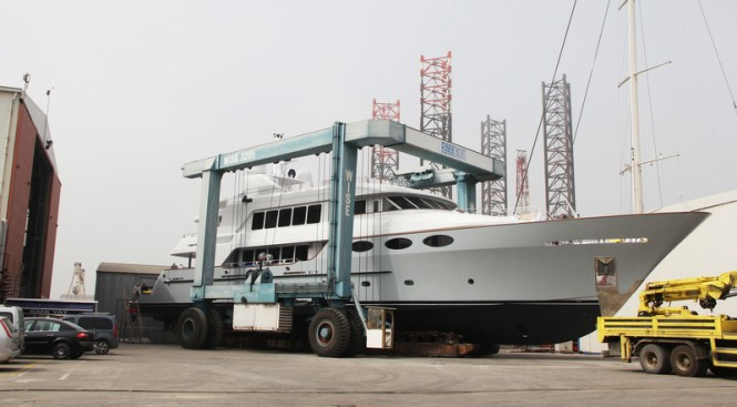 43m Trinity Yacht Keyla refitted by RMK Marine and Hot Lab