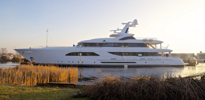 57m luxury motor yacht Larisa by Feadship