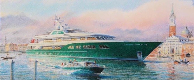 62m Feadship superyacht Sea Owl designed by Andrew Winch