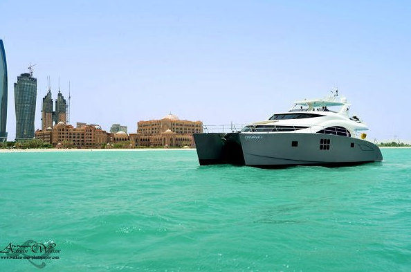 70 Sunreef Power Yacht DAMRAK II in the Middle East