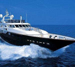 Fam-trip aboard exceptional Mediterranean charter yacht JO