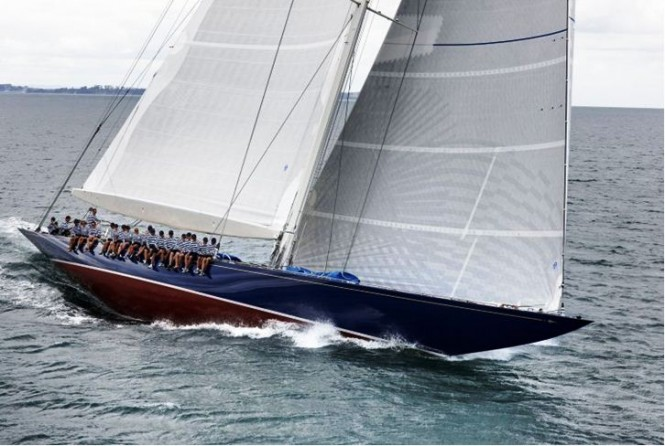 Classic Yacht Endeavour with interior design by Adam Lay after refit at Yachting Developments
