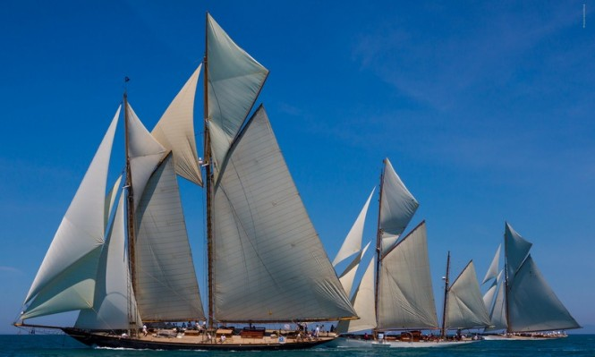 Classic Yachts Mariette of 1915, Javelin and Mariquita