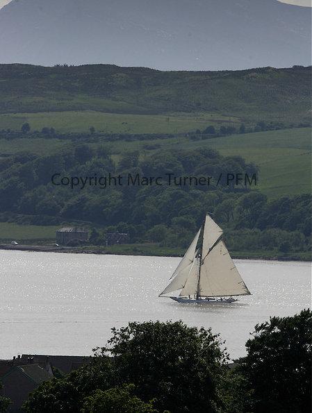 Classic sailing yacht Mariquita - Photo credit Marc Turner /PFM