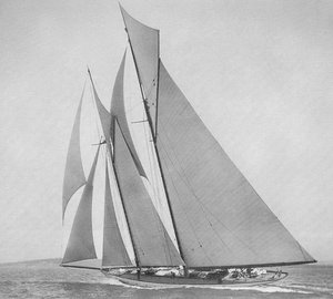 Replica of 1903 classic yacht INGOMAR seeking buyer to finish construction at Front Street Shipyard