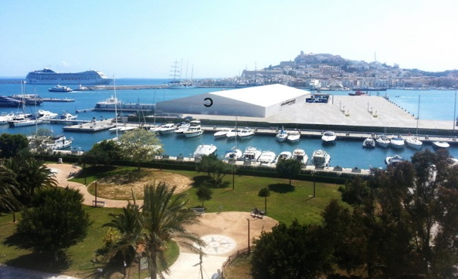 Contemporary Ibiza 2013 to be hosted by Marina Ibiza positioned in the lovely Spanish yacht charter location - Ibiza