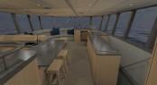 Dashew luxury yacht FPB 78 - Interior
