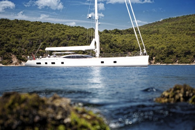 First Oyster 100 SARAFIN Yacht - Image courtesy of Oyster Marine