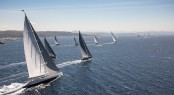 Fleet  - Loro Piana Superyacht Regatta 2013 © Superyacht Media