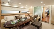 Guido de Groot and Bobic designed interior for 'the two Roses' yachts
