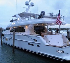 New Horizon E78 motor yacht WILD DUCK delivered