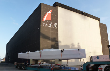 Infiniti 100S Yacht by Danish Yachts completes tank testing