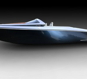 Latest SCORPION yacht tender/launch vessel concept designed by Scott Henderson