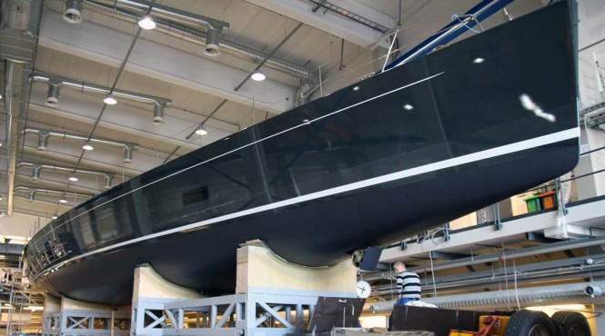 Launch of the 32m Baltic superyacht INUKSHUK attended by MCM