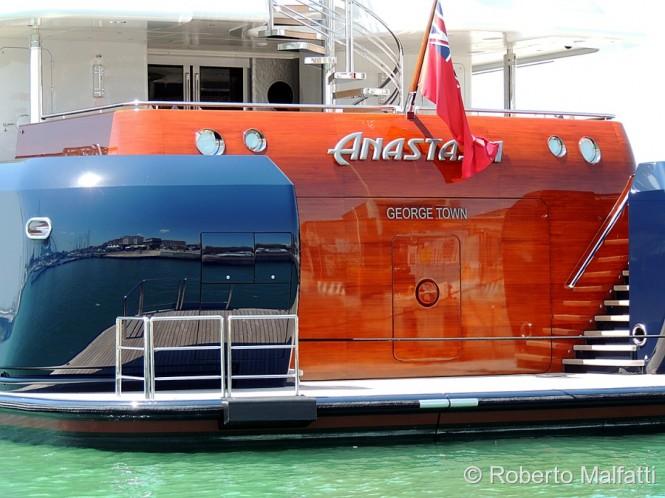 Lovely ANASTASIA yacht - Italy superyacht charter