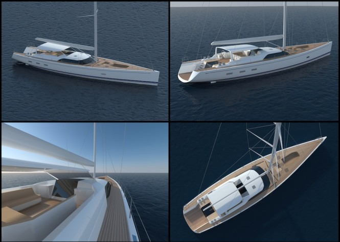 Luxury Sailing Yacht Swan 105 RS - Exterior