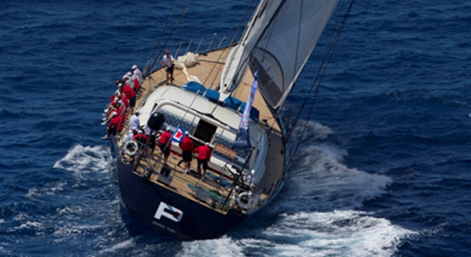 Luxury charter yacht P2 at the Superyacht Cup Palma 2013 - Photo credit to www.clairematches.com