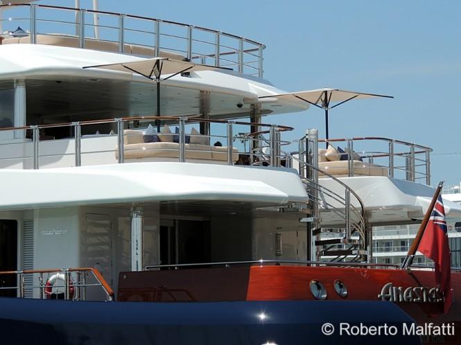 Luxury mega yacht ANASTASIA