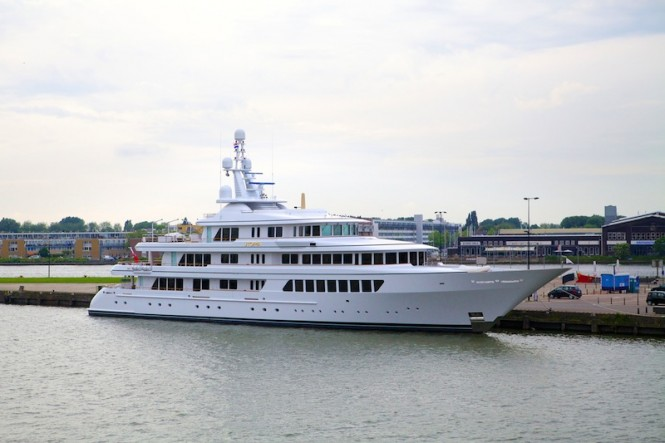 Luxury superyacht UTOPIA relaunched