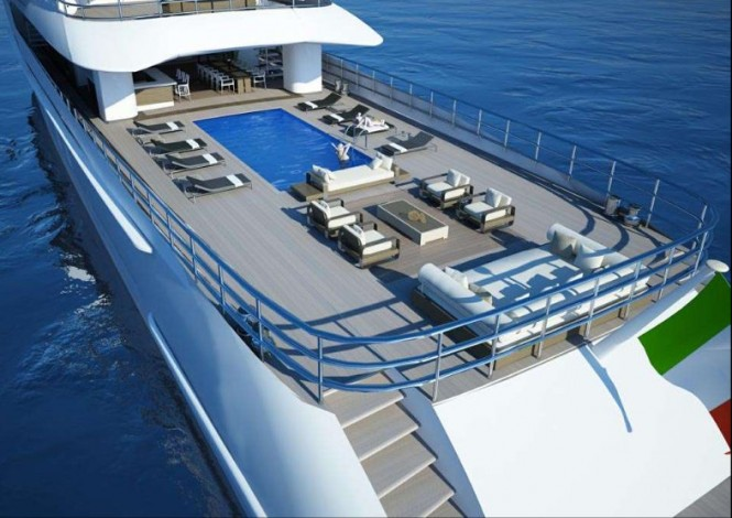 Luxury yacht Project Beach concept - Exterior