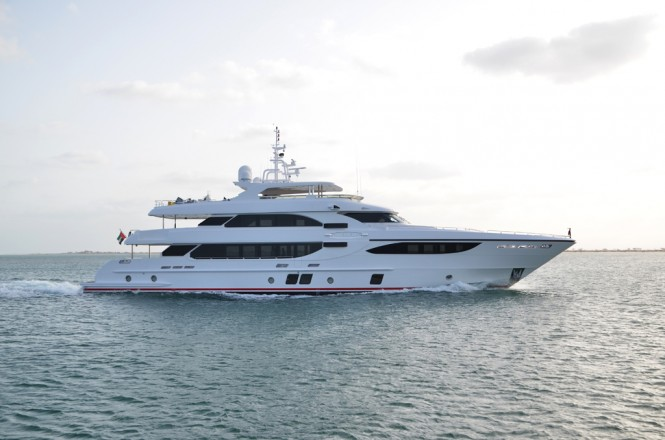 Majesty 135 Yacht by Gulf Craft