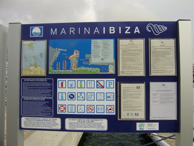 Marina Ibiza renews its Blue Flag as only port in Ibiza