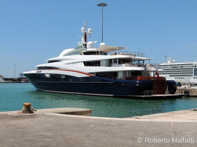 Mediterranean charter yacht Anastasia