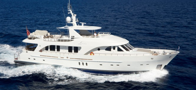 Moonen 97 Yacht Livia by Moonen Shipyards