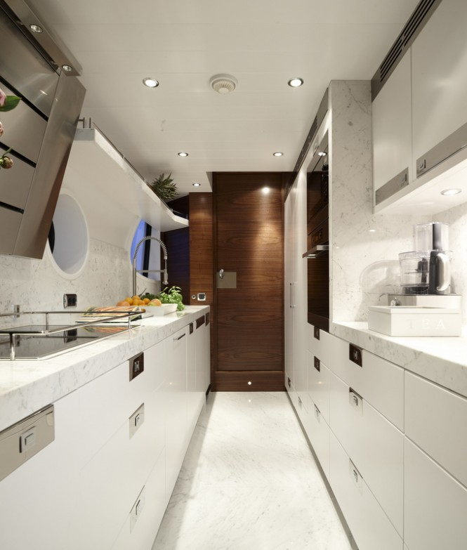 Motor yacht Livia - Galley