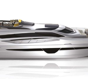 New motor yacht Project 105 HT by Numarine