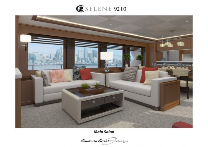 Motor yacht Selene 92 - Interior