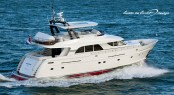 Mulder 73 Flybridge Yacht Boonooroo II designed by Guido de Groot Design