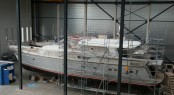 Mulder 73 Wheelhouse Yacht Float at Mulder Shipyard